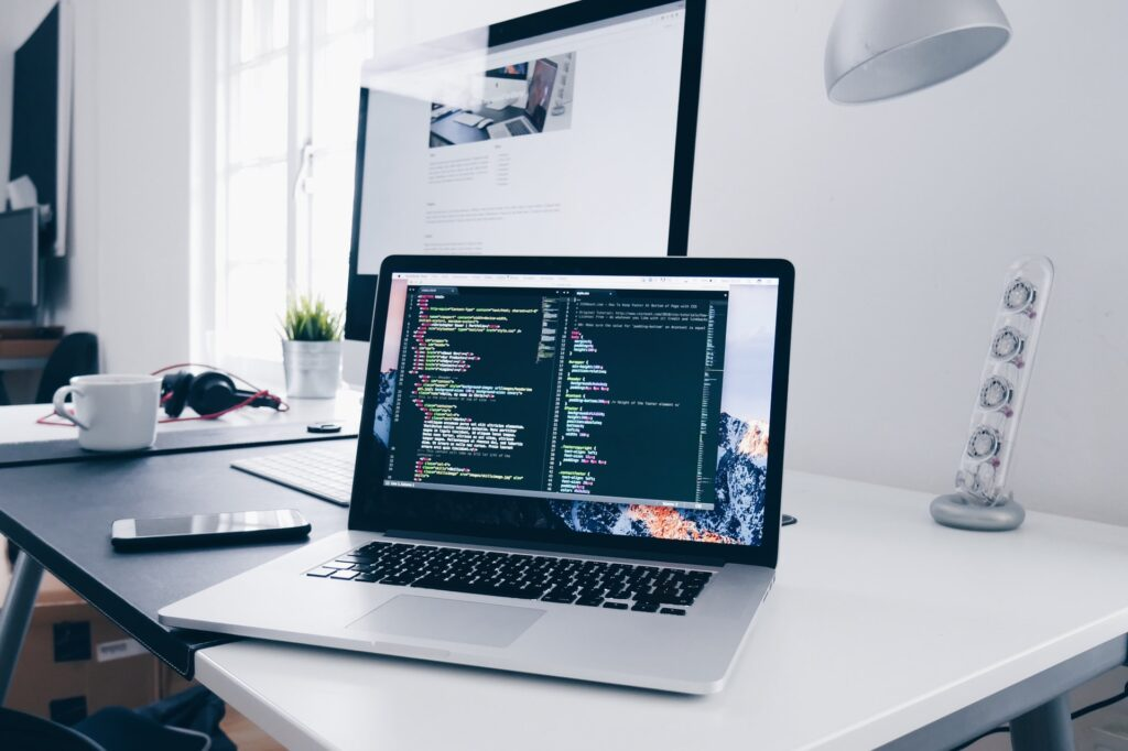 Front-end development with react